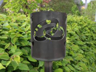 Bild Gartenfackel Eheringe