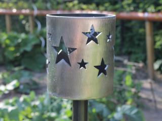 Bild Gartenfackel Sterne