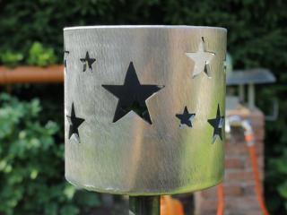 Bild Gartenfackel Sterne ⌀ 168 mm